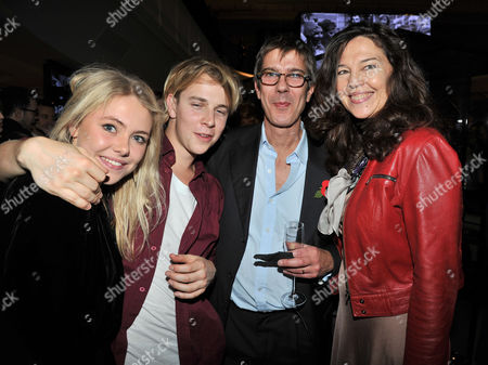 Stock Photo of the Power 1000 2012 - Evening Standard's 1000 Most Influential People at Burberry Flagship Store Regent Street Olivia Lee and Tom Odell with Jennifer Hall and Her Husband Glenn Wilhide