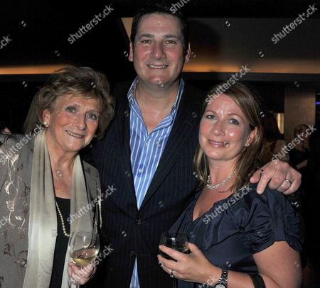Michael Ball and Friends Concert in Aid of the Shooting Star Children's Hospice at the Prince of Wales Theatre Coventry Street London Tony Hadley with His Mother (l) and His Wife (r) Alison Evers