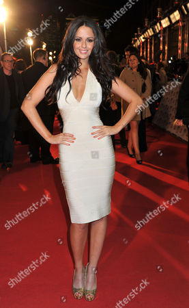 National Television Awards Arrivals at the 02 Arena Greenwich Jennifer Metcalfe