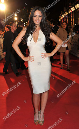 Stock Picture of National Television Awards Arrivals at the 02 Arena Greenwich Jennifer Metcalfe