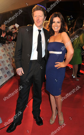 National Television Awards Arrivals at the 02 Arena Greenwich Charlie Stayt
