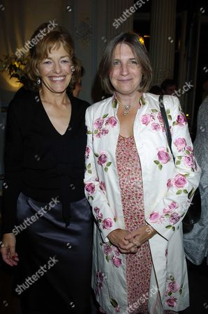 Flora Fraser Launch Party For Her New Book 'Princesses the Daughters of George 111' at the Saville Club 69 Brook Street W1 Flora Fraser & Lucinda Lambton