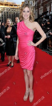Stock Image of Olivier Theatre Awards 2011 Arrivals at the Theatre Royal Drury Lane Cassie Levy