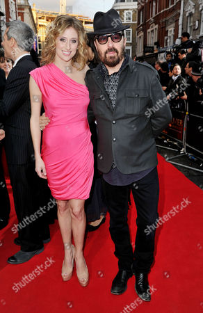 Olivier Theatre Awards 2011 Arrivals at the Theatre Royal Drury Lane Cassie Levy and Dave Stewart