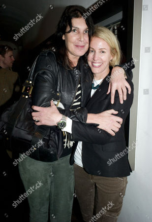 Opening of Chucs Dive and Mountain Shop and Party at Automat Dover Street Annabel Brooks and Sydney Finch