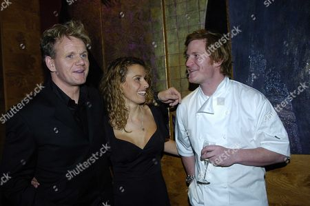 Editorial image of Opening Party For Gordon Ramsay's New Restaurant and Bar, Pengelley's, Sloane Street - 22 Feb 2005