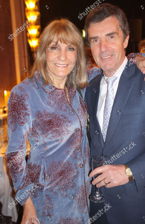The Annual Parliamentary Palace of Varieties Concert & Dinner in Aid of Macmillan Cancer Support at the Park Lane Hotel Piccadilly London John Stapleton with His Wife Lynn Faulds Wood