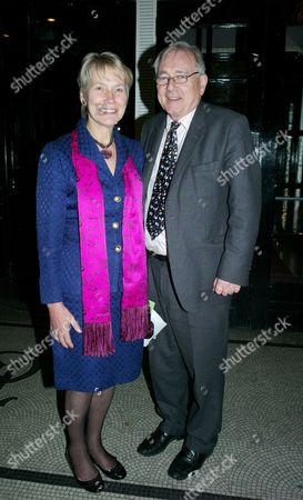 The Annual Parliamentary Palace of Varieties Concert & Dinner in Aid of Macmillan Cancer Support at the Park Lane Hotel Piccadilly London Sir Peter Bottomley Mp with His Wife Virginia Bottomley Baroness Bottomley of Nettlestone