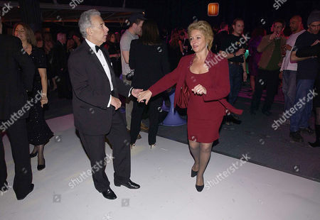 Stock Picture of Party at Old Billingsgate Market Following A Benefit Performance to Raise Funds For the Old Vic Theatre Lord Michael and Lady Gilda Levy