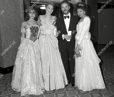 Party to Launch the Book 'The Most Beautiful Women' at the Grosvenor House Hotel Emma Jacobs Tessa Dahl Bill Gibb and Lesley Ann Down