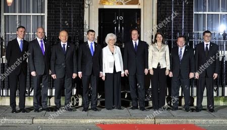 Editorial image of Photocall at Number 10 Downing Street to Mark the Start of the Nordic Baltic Summit Starting On the 20th January 2011 - 19 Jan 2011