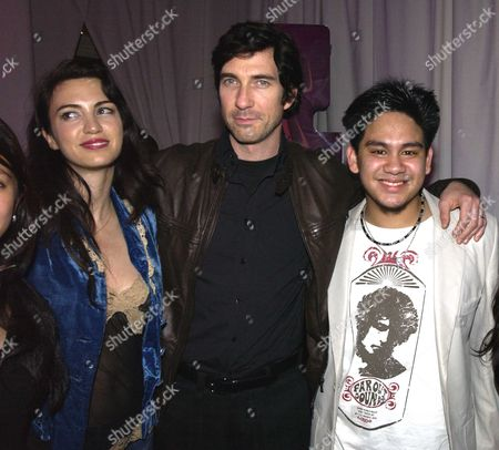 Dylan Mcdermott with His Wife Shiva Rose and Hrh Prince Haji Abdul Azim of Brunei