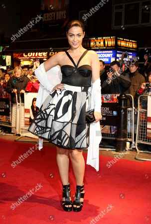 Premiere of 'Miral' During the London Film Festival at the Vue Leicester Square Yasmine Elmasri