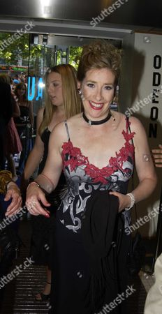 Stock Image of Premiere of 'Pirates of the Caribbean: the Curse of the Black Pearl' at the Odeon Leicester Square Phylis Logan