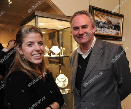 Private View at the Fine Art Commissions Gallery (the Tryon Gallery) in Bury Street Mayfair Jewellery Designer Victoria Tryon and William Cash