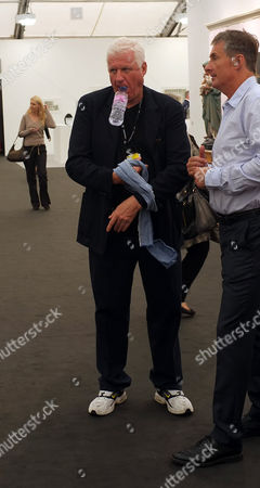 Private View at the Frieze Art Fair in Regents Park London Dr Friedrich-christian Flick (mick)