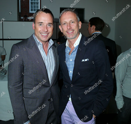 Private View of Herb Ritts by Herb Ritts at Hamiltons Gallery Carlos Place London David Furnish & Patrick Cox