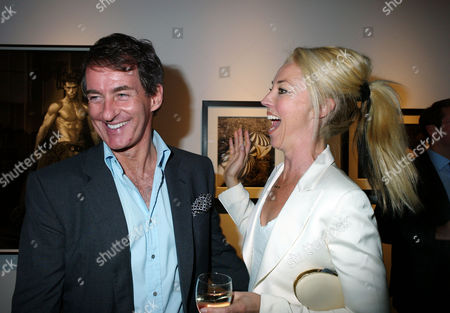 Private View of Herb Ritts by Herb Ritts at Hamiltons Gallery Carlos Place London Tim Jefferies with Tarama Bethwith