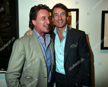 Private View of Herb Ritts by Herb Ritts at Hamiltons Gallery Carlos Place London Tim Attius & Tim Jefferies