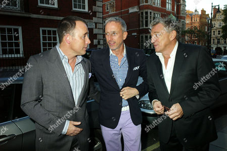 Stock Photo of Private View of Herb Ritts by Herb Ritts at Hamiltons Gallery Carlos Place London David Furnish Patrick Cox & Carlos Almada