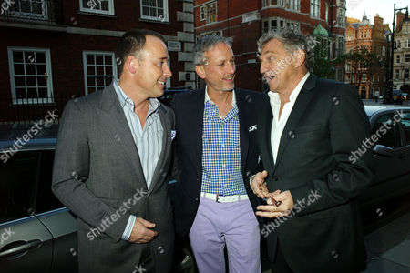 Private View of Herb Ritts by Herb Ritts at Hamiltons Gallery Carlos Place London David Furnish Patrick Cox & Carlos Almada