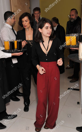 Reception at St Martins Lane Hotel Before the English National Ballet's Performance of the Nutcracker at the Coliseum Bianca Jagger with Her Grand-daughter Assisi Jackson