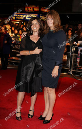 Stock Photo of Red Carpet Arrivals For 'Conviction' During the London Film Festival at the Vue Leicester Square Pamela Gray and Betty Anne Waters