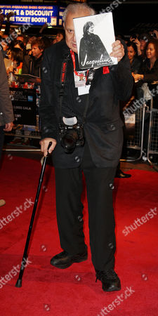 Stock Picture of Red Carpet Arrivals For 'Smash His Camera' During the London Film Festival at the Vue Leicester Square Ron Galella