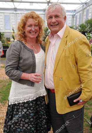 Rhs Chelsea Flower Show Press Day at the Royal Hospital Chelsea Charlie Dimmock & Chris Biggins