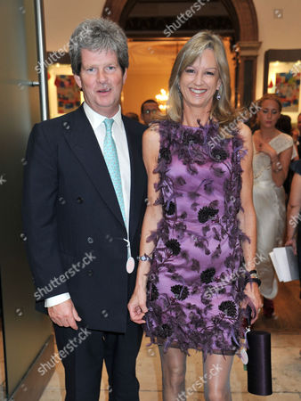 Royal Academy of Arts Summer Exhibition 2011 Private View at the Raa Piccadilly Guy Sangster with His Wife Fiona