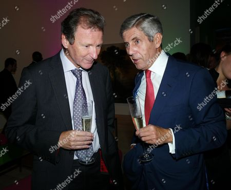 Saatchi and Saatchi Join with M&c Saatchi to Celebrate the 40th Anniversary of the Founding of the Agency at the Saatchi Gallery Chelsea Sir Gus O'donnell and Sir Stuart Rose