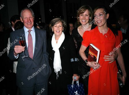 The Launch Party For Santa Montefiore's New Novel the 'Last Voyage of the Valentina' at Asprey Bond Street London Charles Palmer Tomkinson Patti Palmer Tomkinson Tara Palmer Tomkinson & Santa Montefiore