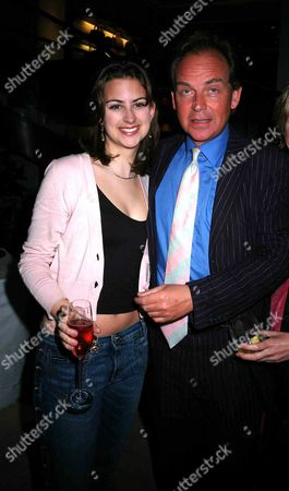 The Launch Party For Santa Montefiore's New Novel the 'Last Voyage of the Valentina' at Asprey Bond Street London Patrick Ryecart with His Daughter