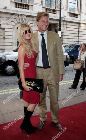 Screening of 'South of the Border' at the Curzon Mayfair Rob Hersov with His Wife Dr Katie James