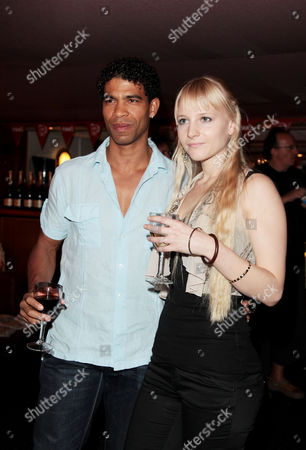 Screening of 'South of the Border' at the Curzon Mayfair Carlos Acosta with His Girlfriend Charlotte Holland