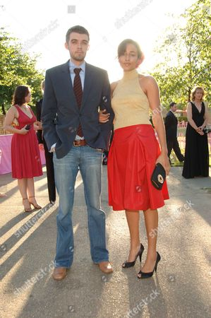 Serpentine Gallery Summer Party at Kensington Park Gardens Zadie Smith with Her Husband Nick Laird