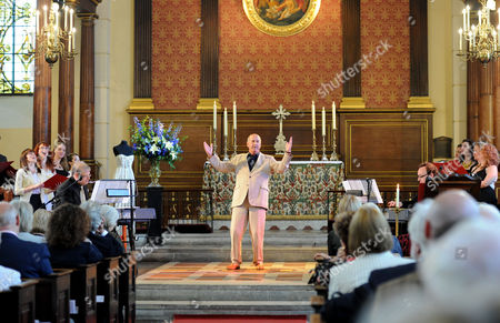 Service of Celebration and Plaque Unveiling at the Actors Church St Pauls Covent Garden Russ Abbot