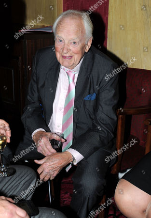 Service of Celebration and Plaque Unveiling at the Actors Church St Pauls Covent Garden with Drinks Reception at the Theatre Royal Srury Lane Tony Britton