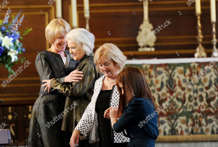 Service of Celebration and Plaque Unveiling at the Actors Church St Pauls Covent Garden Liz Robertson Sings with Previous On-stage Eliza Doolittle's From 'My Fair Lady' Including Amy Nuttall and Sally-ann Howes