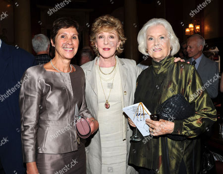 Service of Celebration and Plaque Unveiling at the Actors Church St Pauls Covent Garden with Drinks Reception at the Theatre Royal Drury Lane Georgina Andrews and Sally Ann-howes
