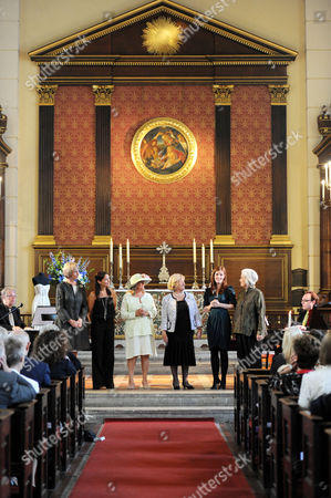 Editorial photo of Service of Celebration For the Life and Work of Alan Jay Lerner and Plaque Unveiling at the Actors Church, St. Pauls, Covent Garden - 14 Jun 2011