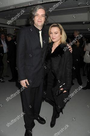 Soho Theatre Fundraising Gala at the Vinyl Factory Marshall Street Steve Marmion and Sophia Myles