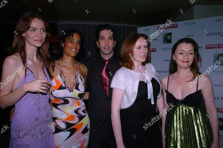 The 1st Night Party For Some Girl(s) at Cocoon Air Street London Starring David Schwimmer Saffron Burrows Lesley Manville Sara Powell & Catherine Tate