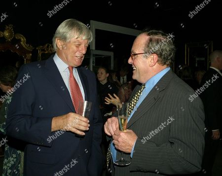 Sotherby's Annual Summer Party at the New Bond Street Auction House Archie Stirling and Michael Ancram