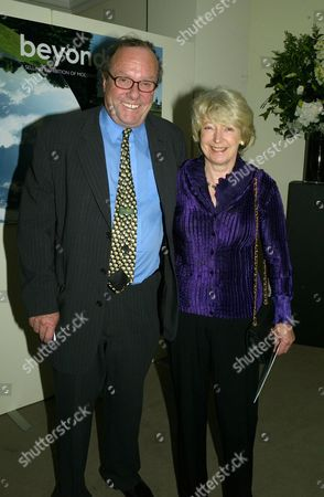 Sotherby's Annual Summer Party at the New Bond Street Auction House Michael Ancram with His Wife Jane Fitzalan-howard