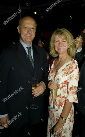 Sotherby's Annual Summer Party at the New Bond Street Auction House Nick George and Lady Marsha Fitzalan-howard