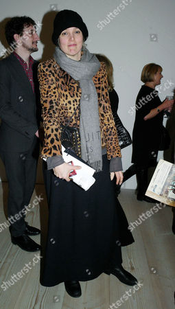 Stock Picture of Sunday Times Magazine 50th Anniversary Exhibition Private View at the Saatchi Gallery Dixie Chassay