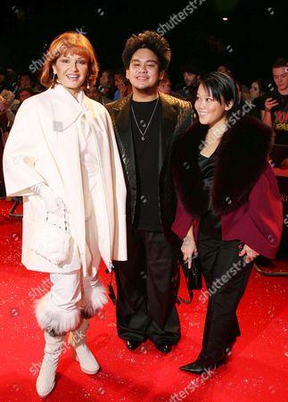 Stephanie Beacham and Hrh Prince Haji Abdul Azim of Brunei