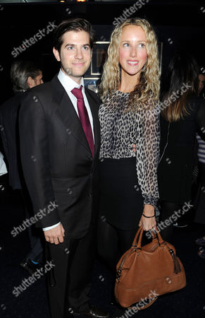 Tatler Little Black Book Party at Tramp Nightclub Mayfair Jack Freud with His Wife Kate Melhuish