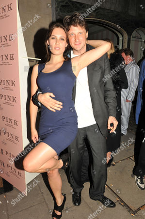 Tatler Pyjama Party at Claridge's Hotel Mayfair London Lily Henderson & Lord Johnson Somerset
